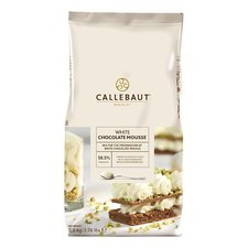 Callebaut Chocomoussepoeder Wit 800 Gr