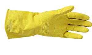 Plastic Huishoudhandschoen Large