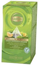 Lipton Exclusive Selection Tea Green Mandarijn/Sinasappel 30 St