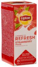 Lipton Feel Good Strawberry Tea 25x1,6 Gr
