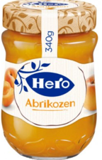 Hero Abrikozen Jam 340 Gr