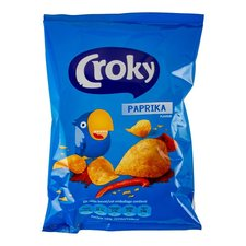 Croky Paprika Chips 20x40 Gr