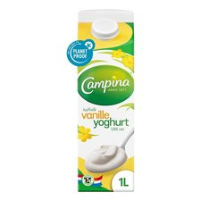 Halfvolle Vanille Yoghurt 1 Ltr