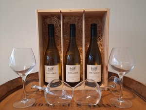 Wijnpakket Metairie Chardonnay 3x75 Cl