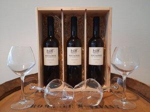 Wijnpakket Metairie Viognier 3x75 Cl