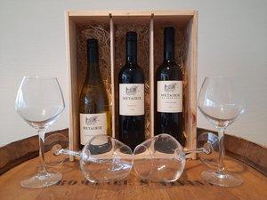 Wijnpakket Metairie Gemengd 3x75 Cl