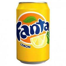 Fanta Lemon Blik 33 Cl