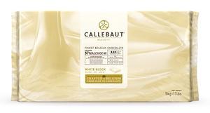 Callebaut Couverture Blok Wit 5 Kg