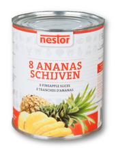 Ananas-Schijven 825 Ml