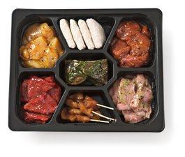 Gourmetschotel Vlees Deluxe 3 à 4 Personen 1,1 Kg