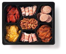 Gourmetschotel Vlees 3 à 4 Personen 1,1 Kg