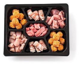 Fondueschotel Vlees 3 à 4 Personen 1,1 Kg