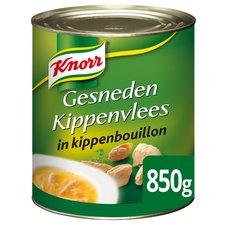 Knorr Gesneden Kippenvlees in kippenbouillon 850 Gr