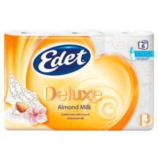 Edet Toiletpapier Deluxe Almond Milk 4-laags 6 Rol