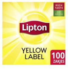 Lipton Feel Good  Yellow Label Tea 100x1,8 Gr